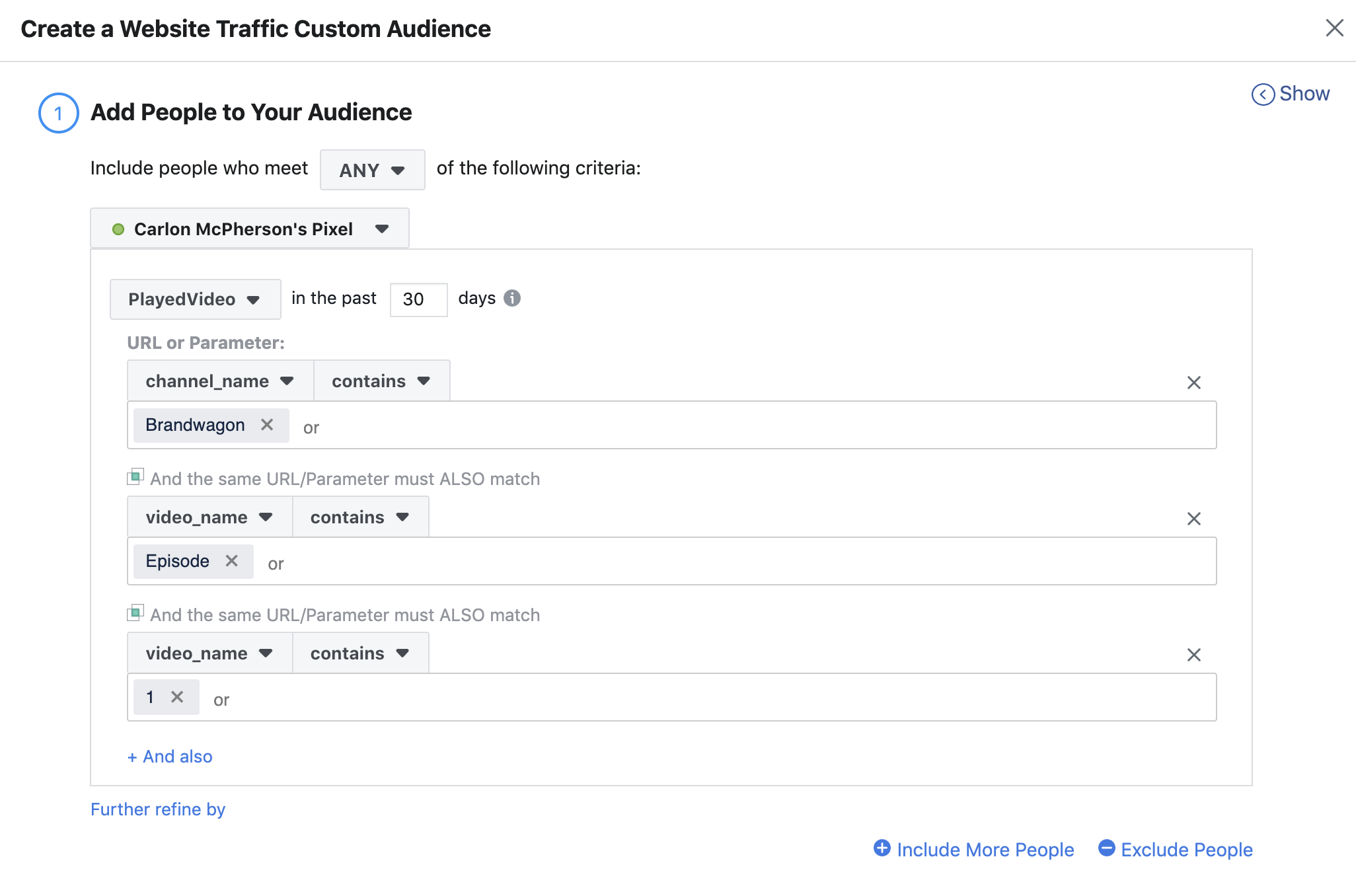 5.3 Create Custom FB Audience
