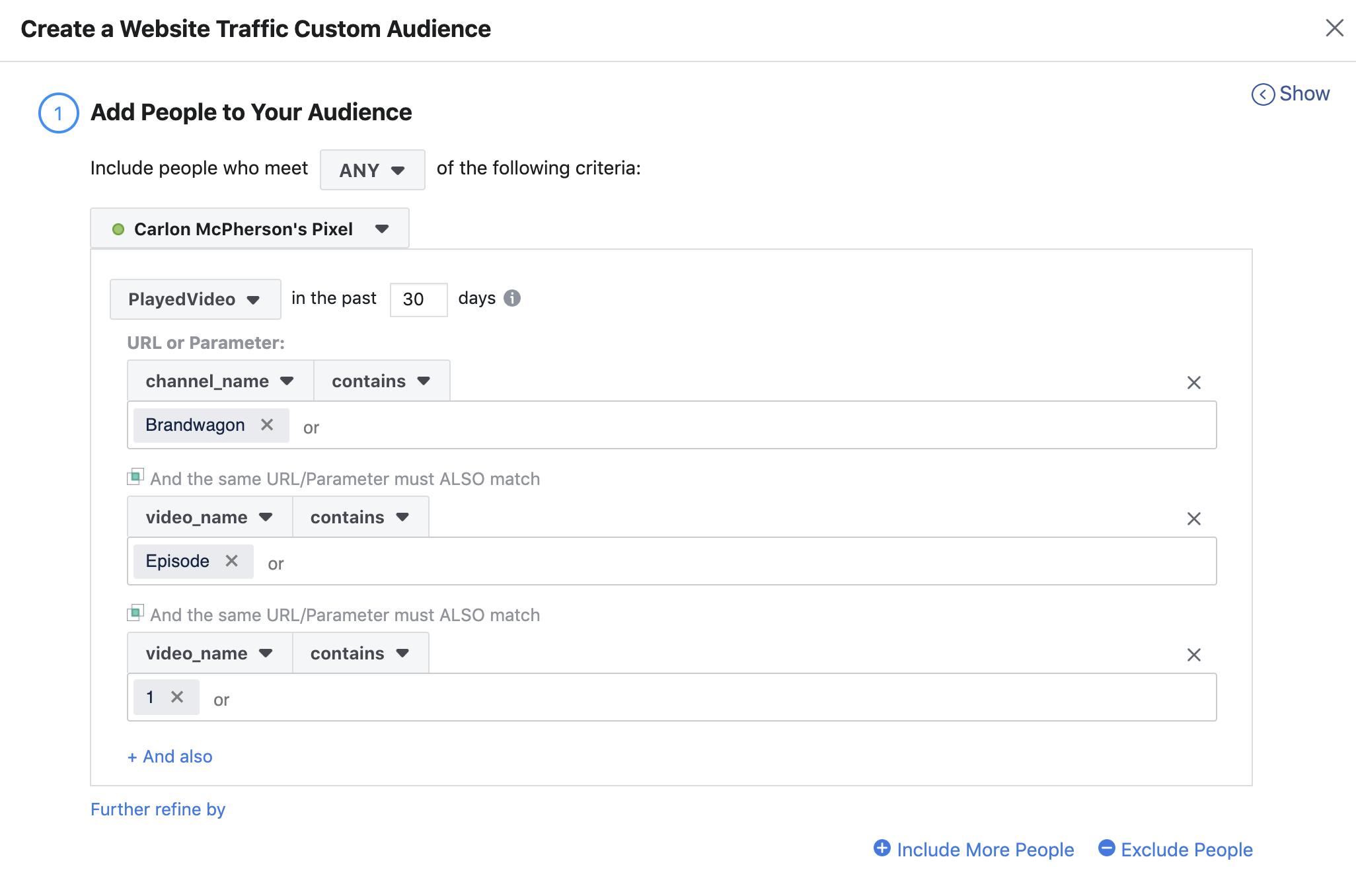 5.3 Create Custom FB Audience