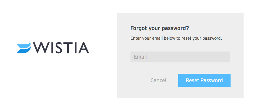 Forgot Your Password enter email
