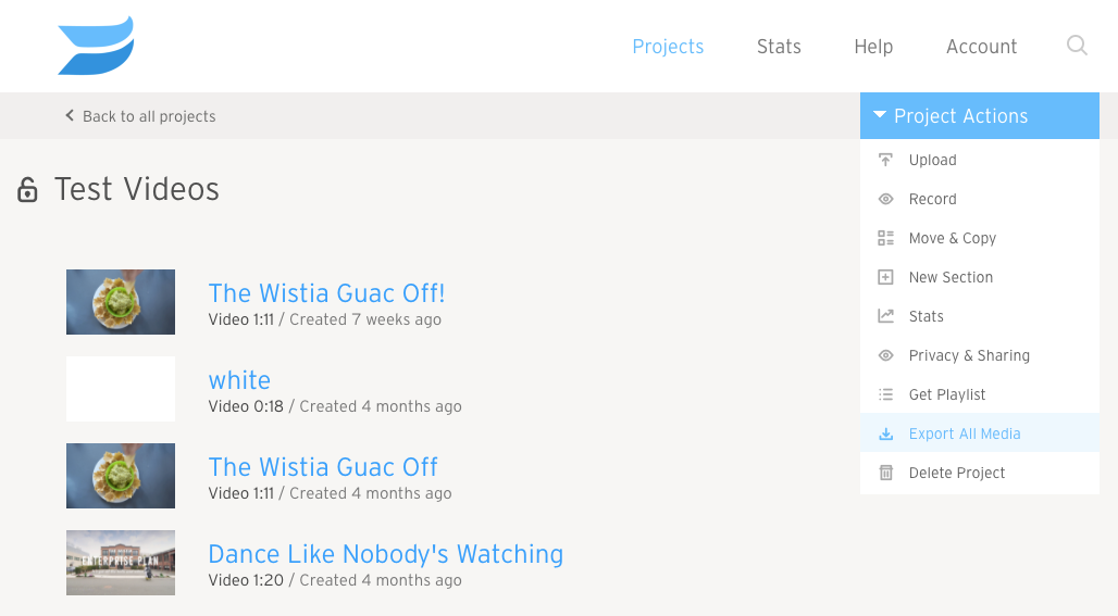 how to download wistia videos
