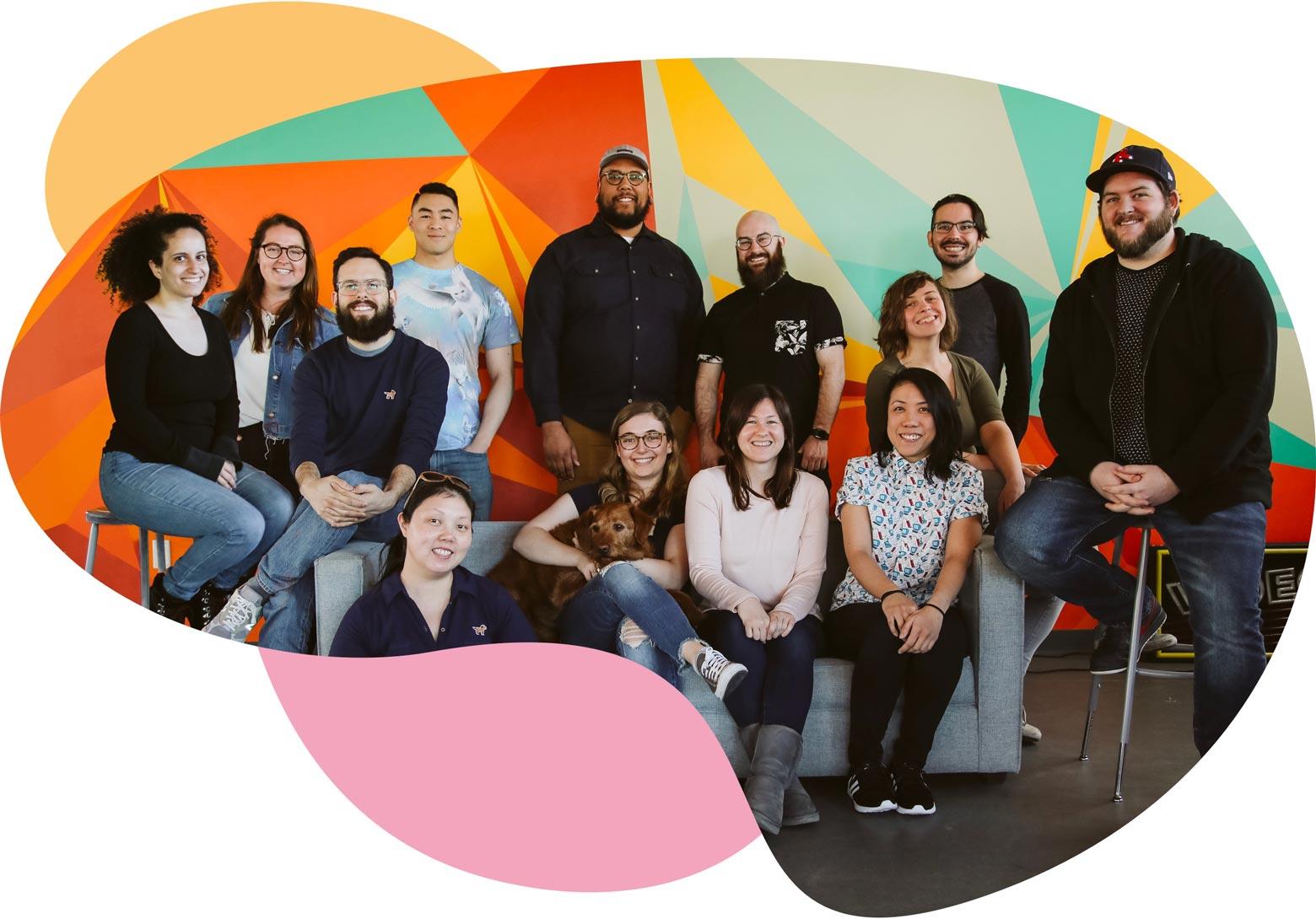 Wistia's Support Team Photo