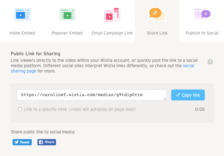 Social Sharing to Facebook