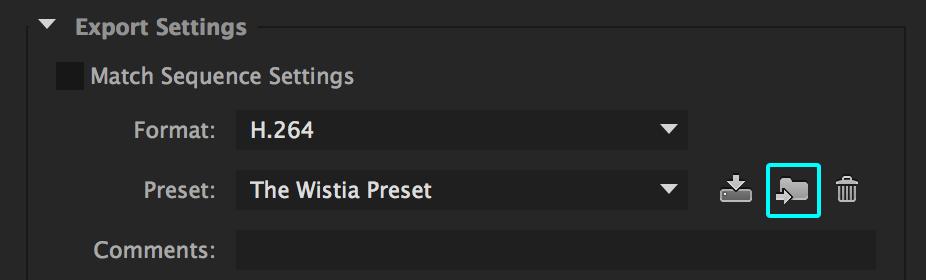 Wistia Premiere Pro Preset