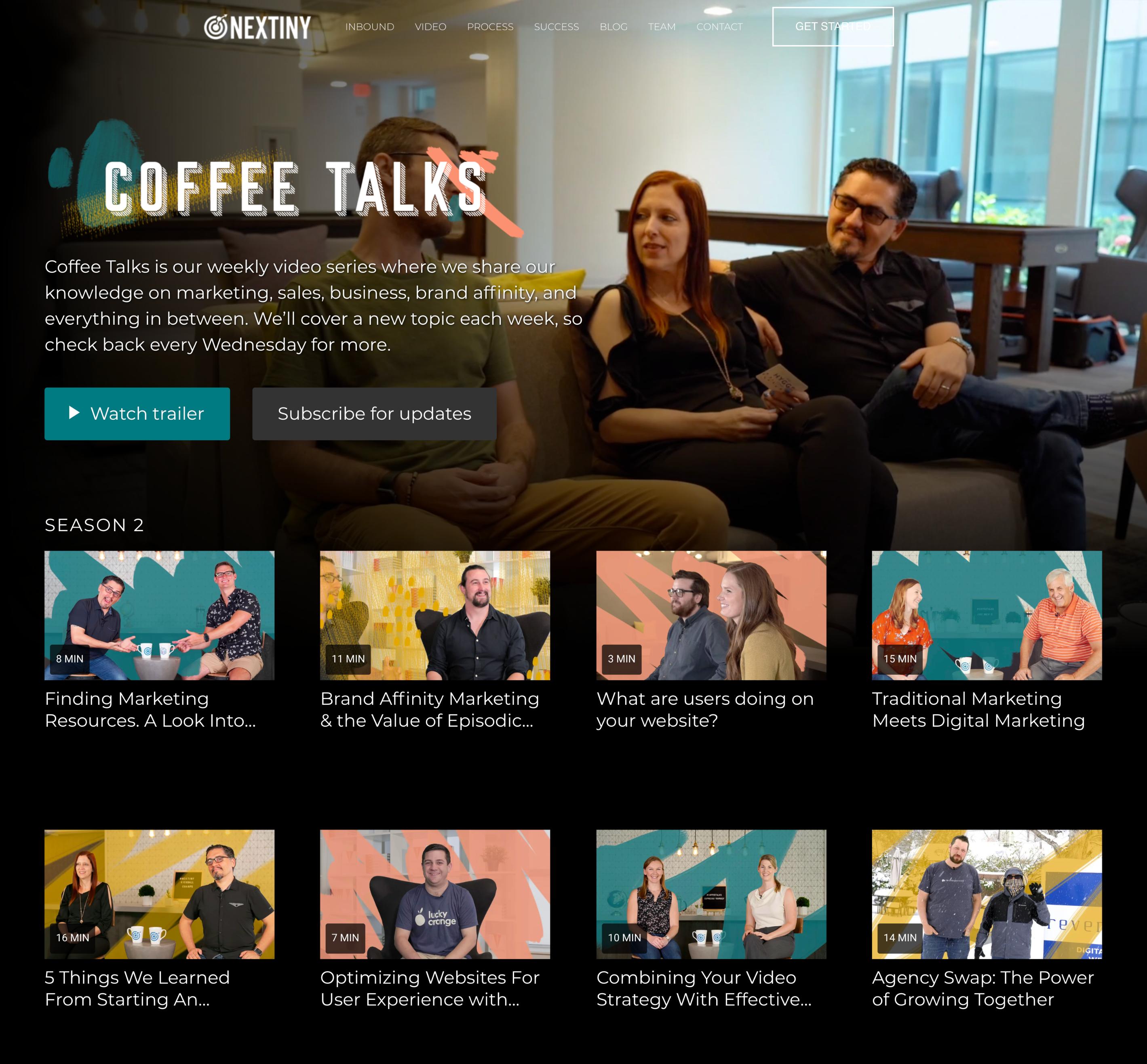 screenshot-of-coffee-talks-channel