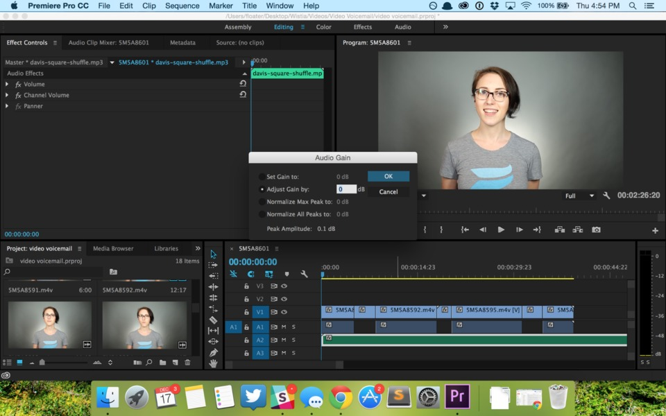 how to add two texts on premiere