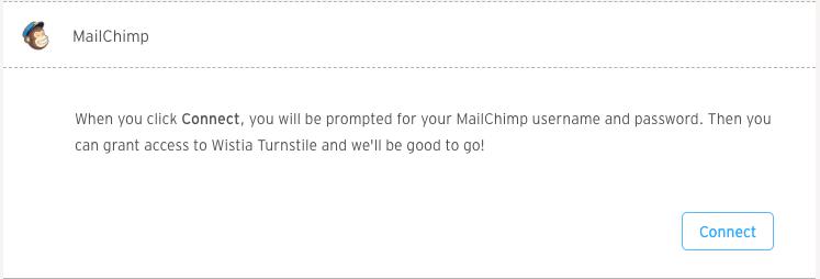 Connect Mailchimp