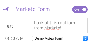 marketo form settings