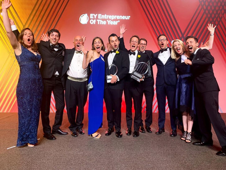Winning EY award