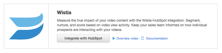 hubspot wistia integration