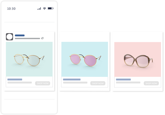 How Facebook Dynamic ads appear