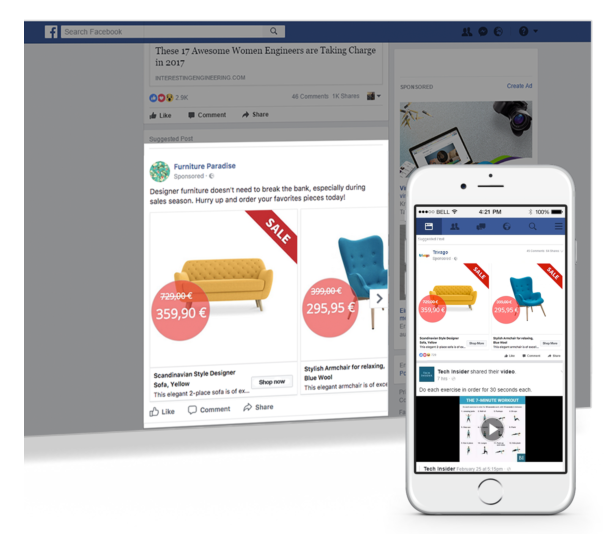 Facebook Dynamic Ads Example