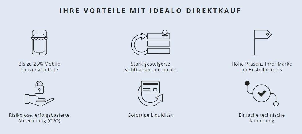 idealo Direktkauf Vorteile
