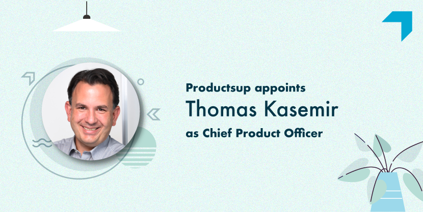 Productsup appoints Thomas Kasemir as Chief Product Officer