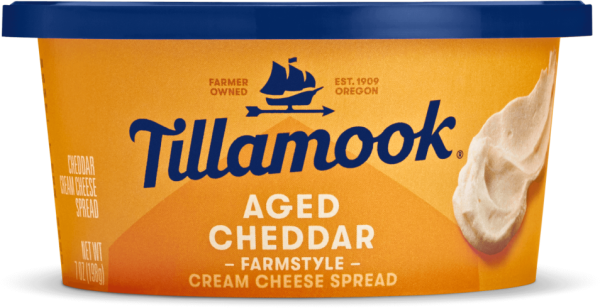 Aged Cheddar Farmstyle Cream Cheese Spread
