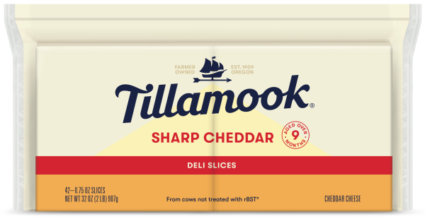 Sharp Cheddar Deli Slices