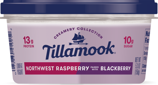 Northwest Raspberry paired with Blackberry