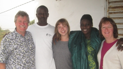 Erica Anderson and Family in Senegal