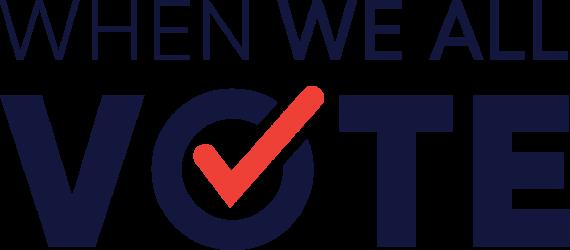 When We All Vote logo