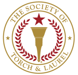 torch and laurel logo