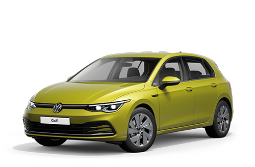 vw golf 8 jaune