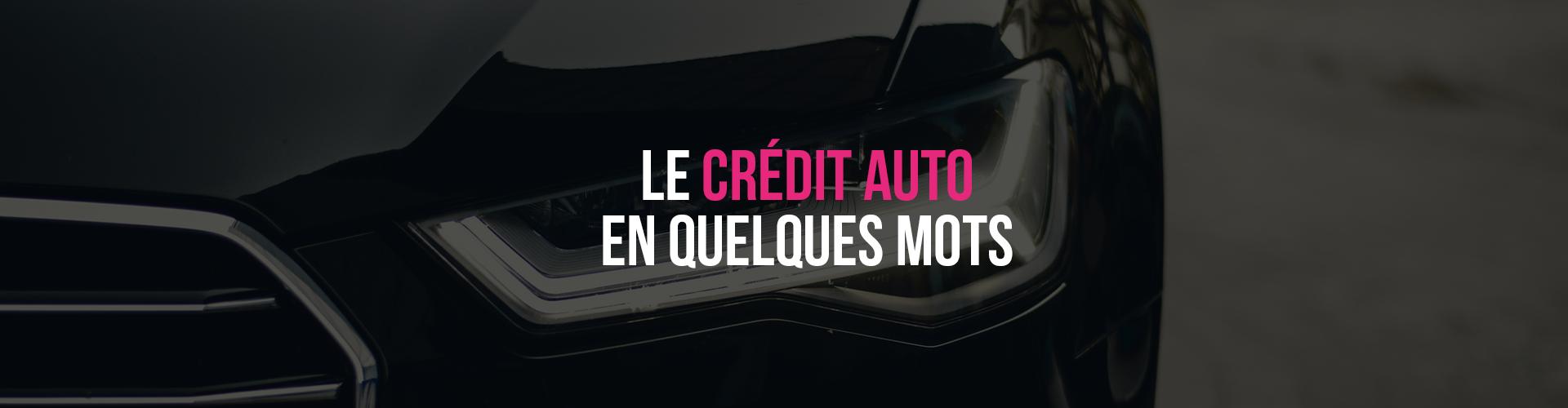 Bannière crédit auto