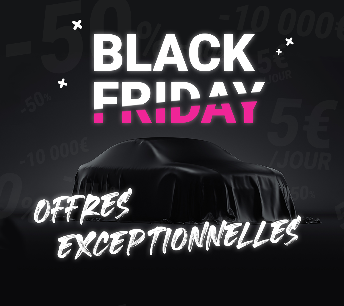 Bannière Black Friday