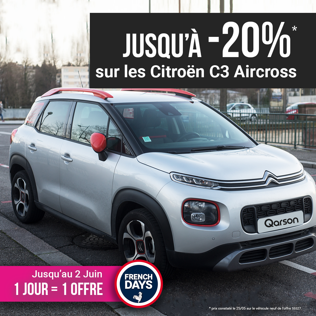 Citroën C3 Aircross offre french days