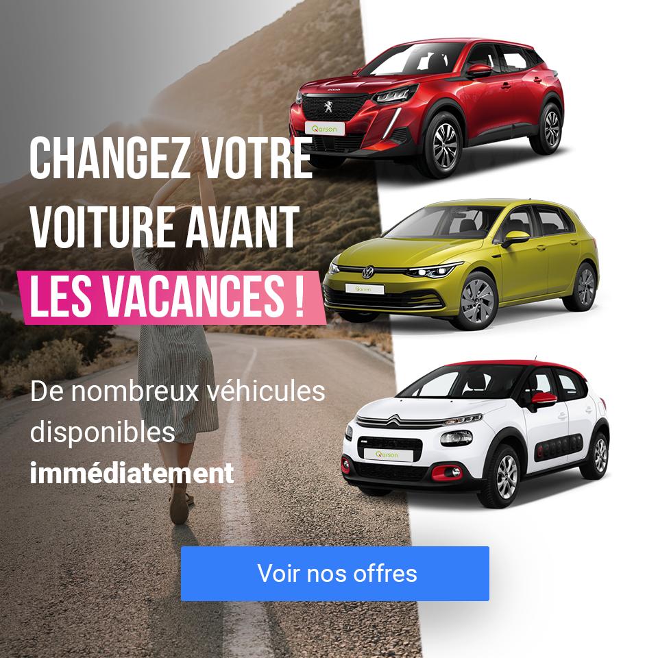 bannière mobile changez de voiture avant les vacances