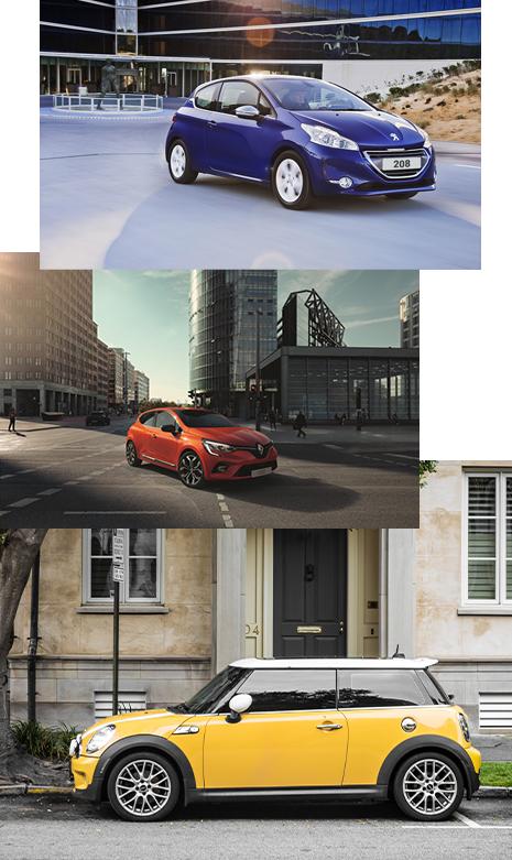 Bannière voitures citadines