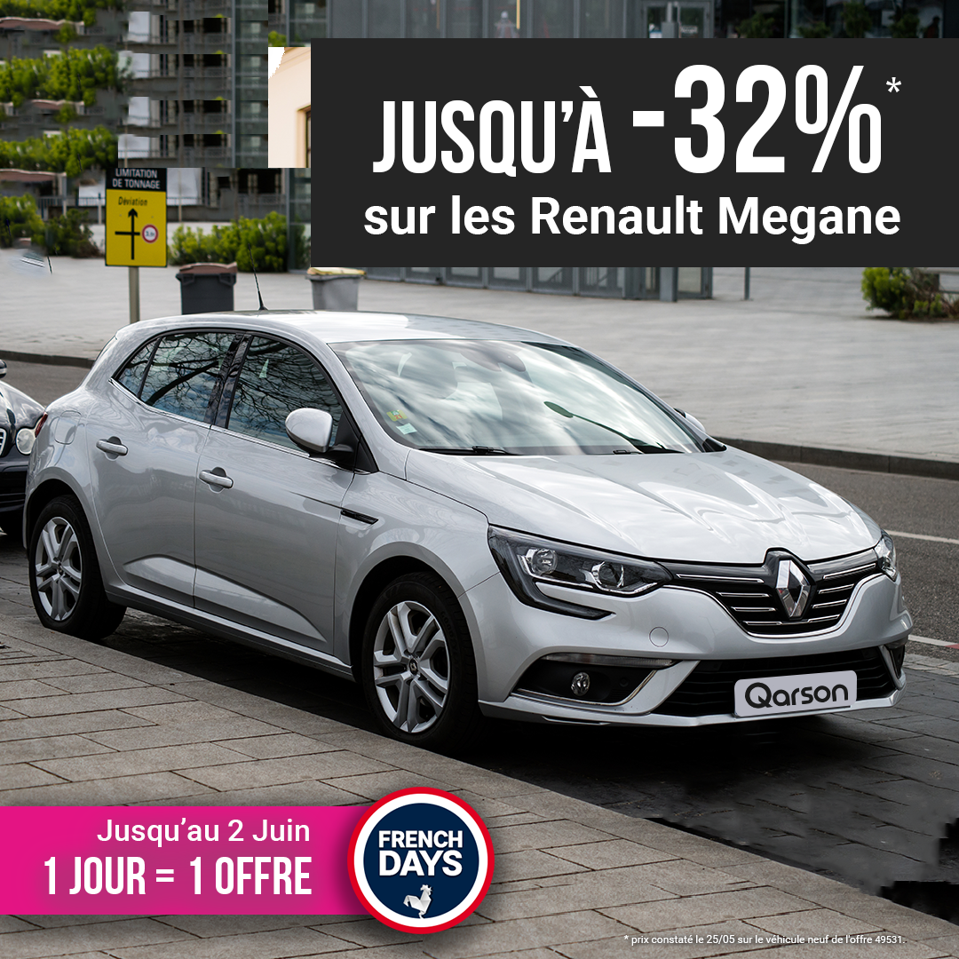 Renault Megane offre french days