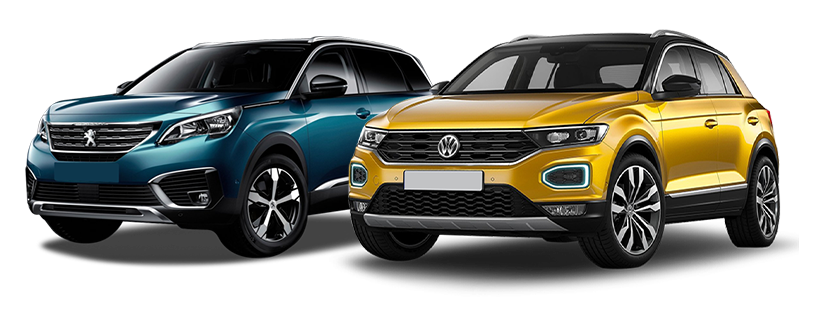 Peugeot 5008 et Volkswagen Tiguan