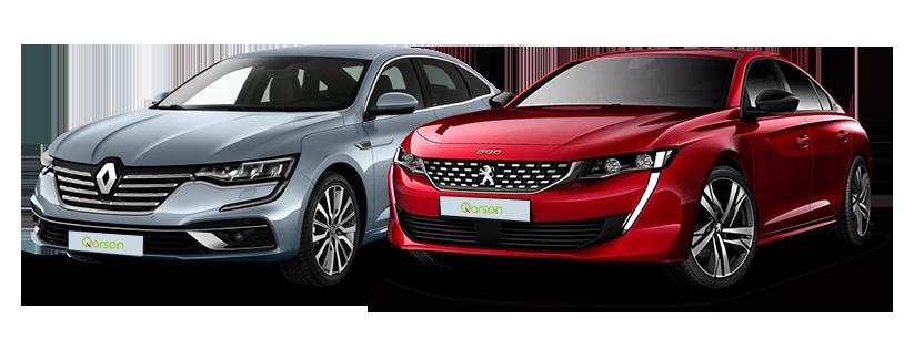 Renault Talisman et Peugeot 508
