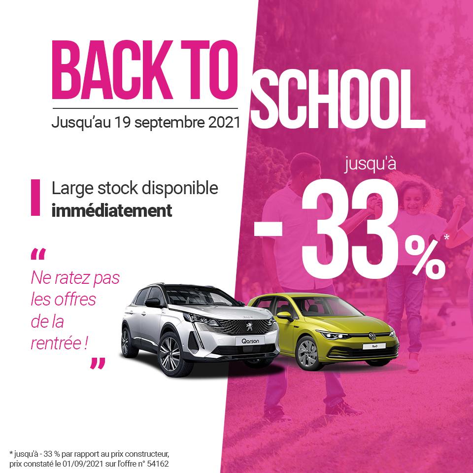 bannière mobile opération back to school