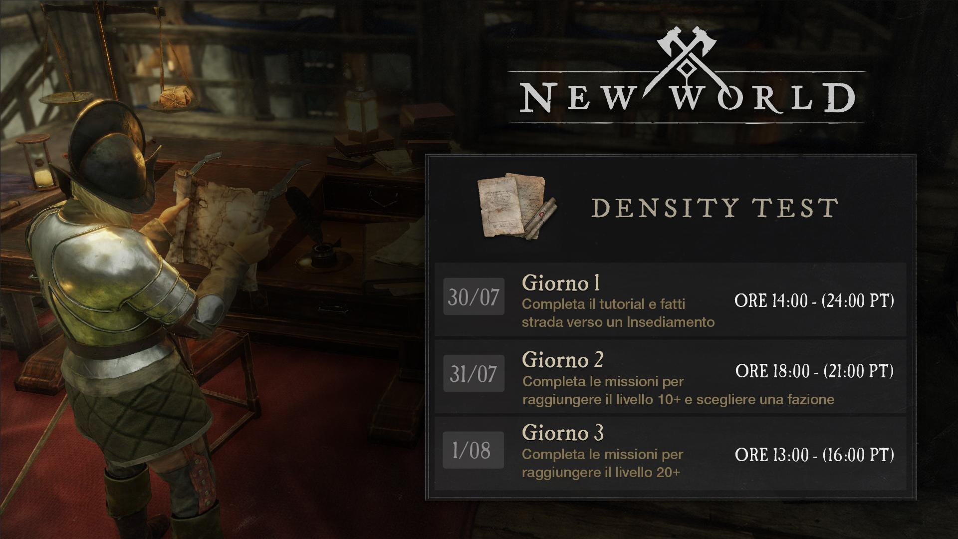 new world beta new world stress test
