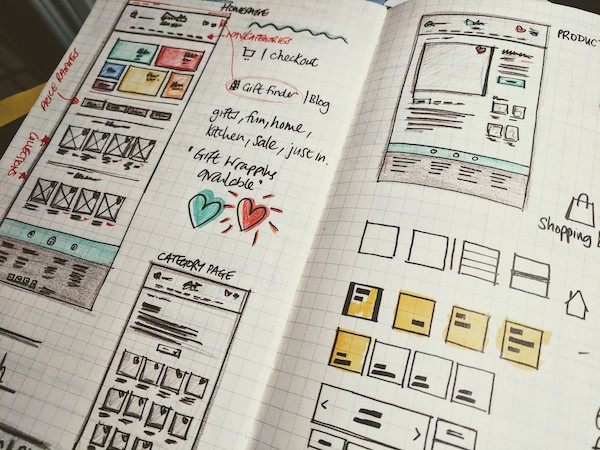 My project process for designing websites and apps