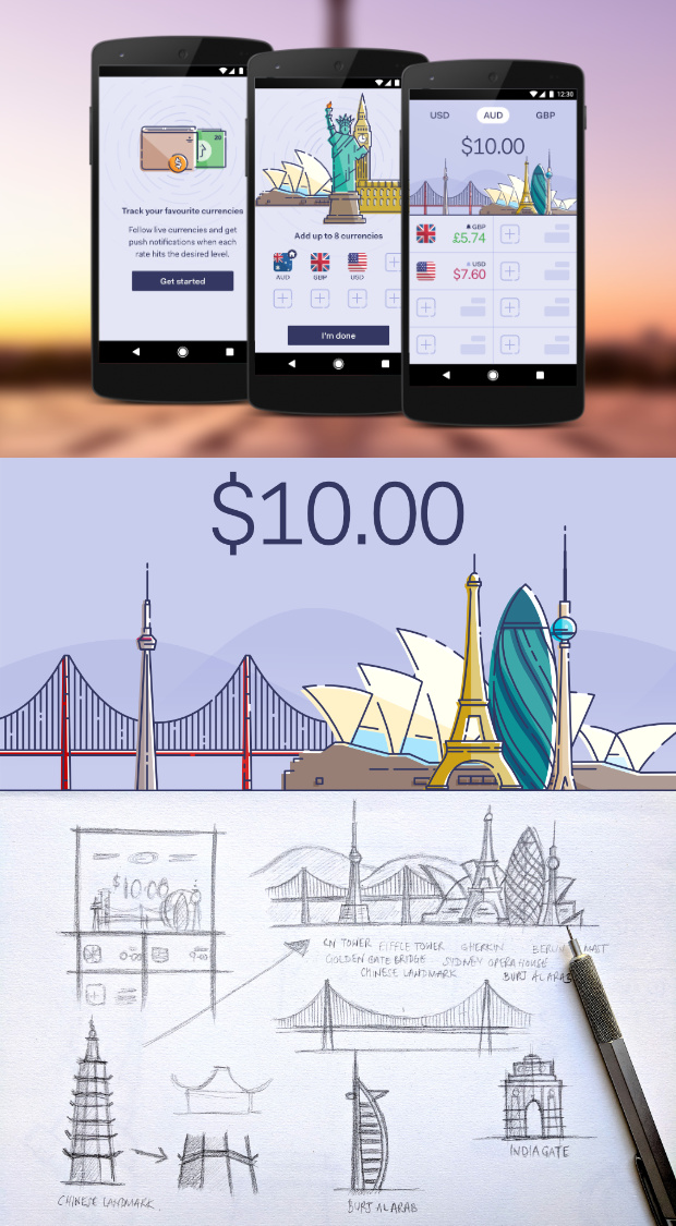 Currency - Mobile App Design