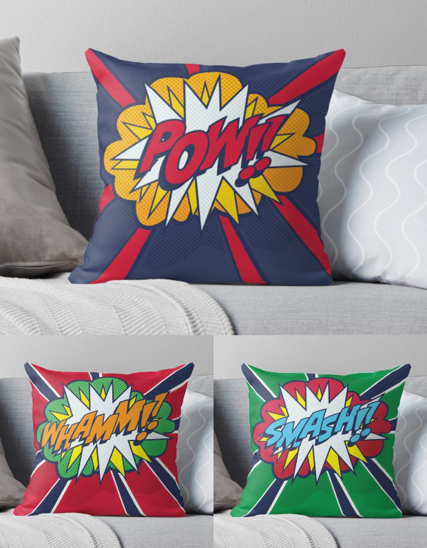 Comic Book Pop Art