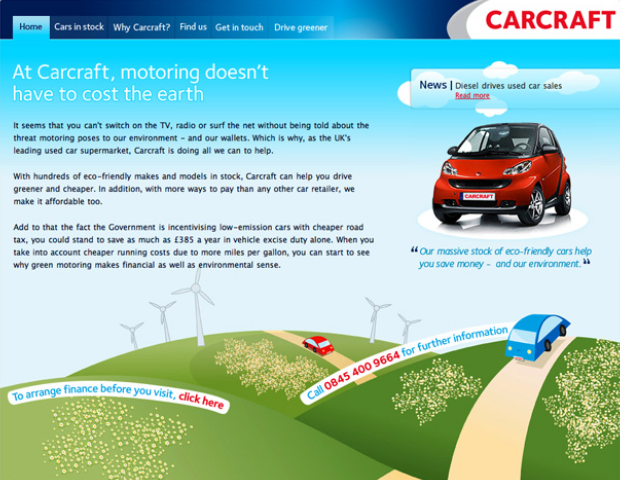 Carcraft Eco Friendly Cars