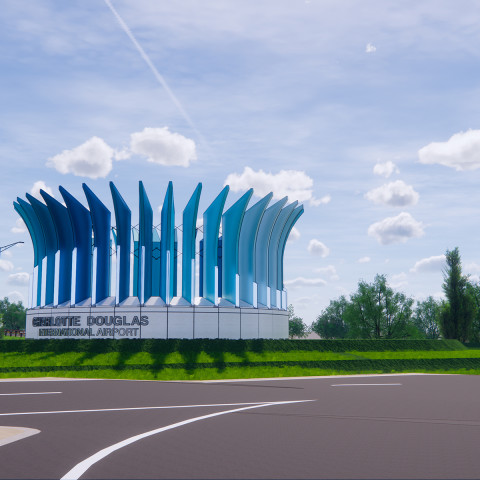 Centerpiece of New Signage to be Architectural Crown Monument