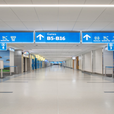 Charlotte Douglas International Airport Completes Concourse B Renovations