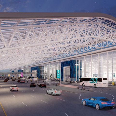 Terminal Lobby Expansion to transform CLT passenger experience