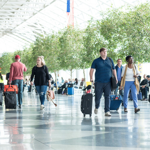 AIRPORT'S BUSY FOURTH OF JULY TRAVEL WEEK IS HERE
