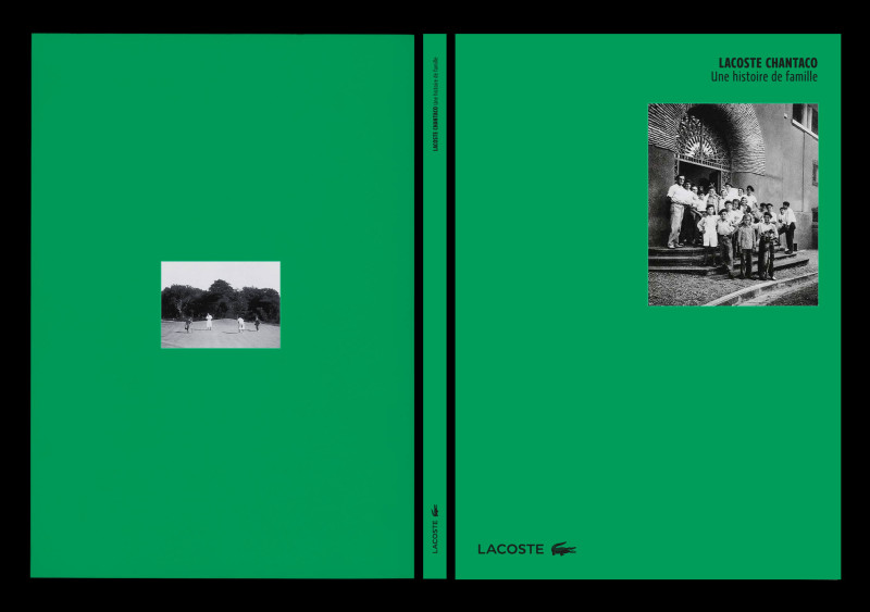 Studio Mitsu for Lacoste. Chantaco. Layout, graphic design, editorial design, archives, typography, books, catalogue.