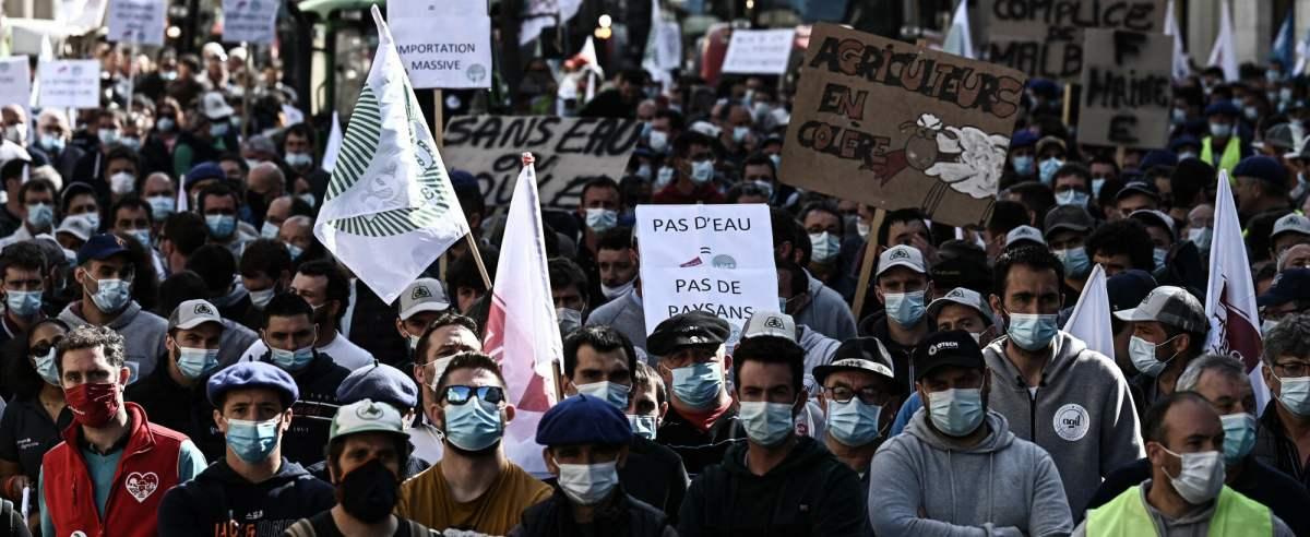 Francja - protest rolników
