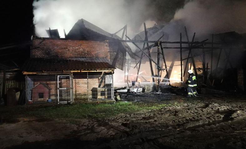 Pożar - Komenda Powiatowa Państwowej Straży Pożarnej w Ostrzeszowie