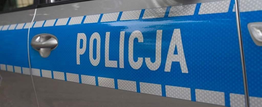Policja - ciągnik