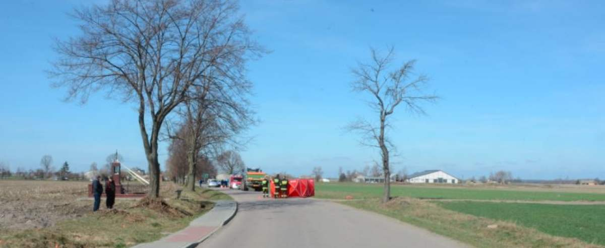 Wypadek - nie żyje motocyklista