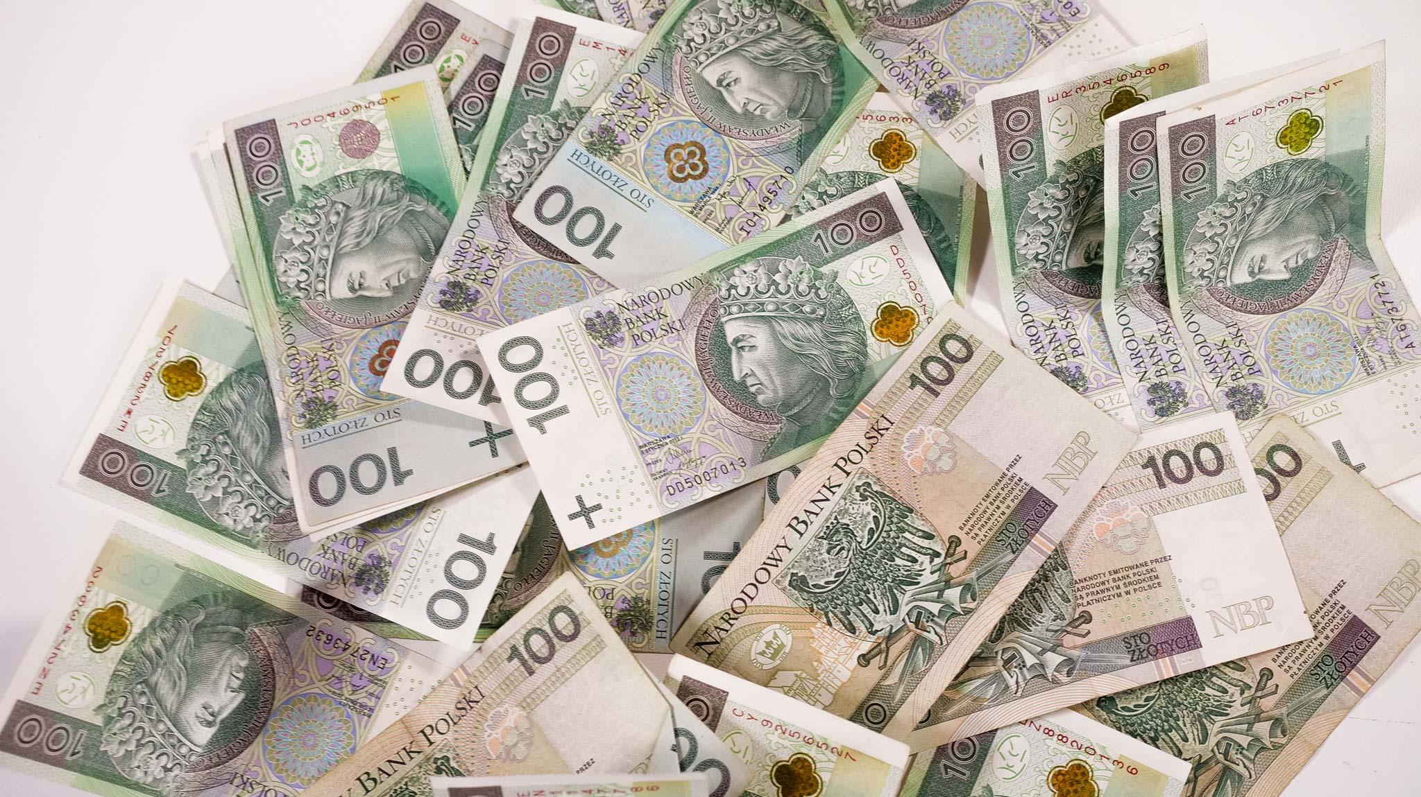 PGR - pieniądze