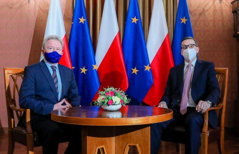 Morawiecki, Wojciechowski - konferencja prasowa
