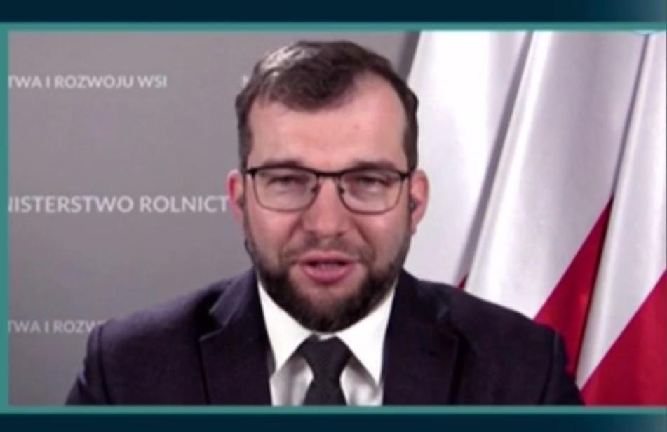 Minister rolnictwa Grzegorz Puda